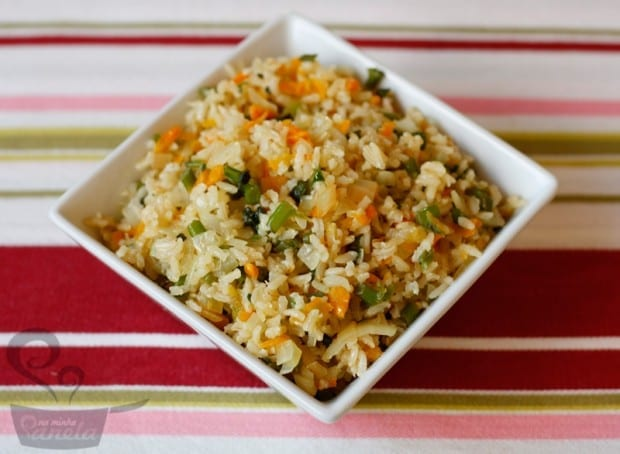 arroz crocante integral