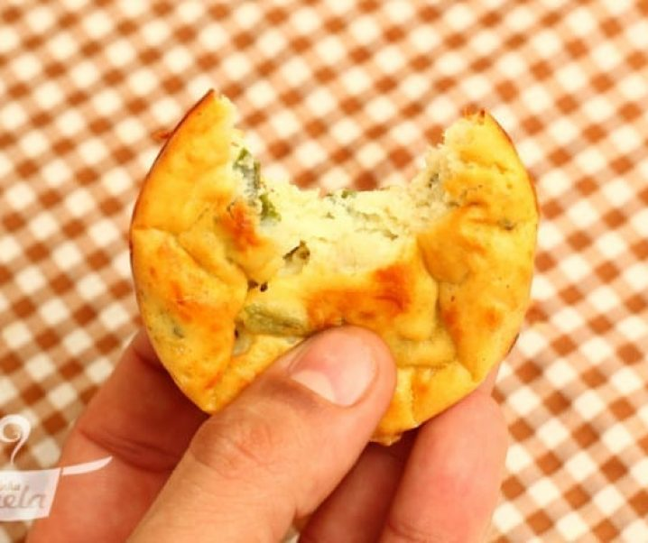 mini quiche de batata doce