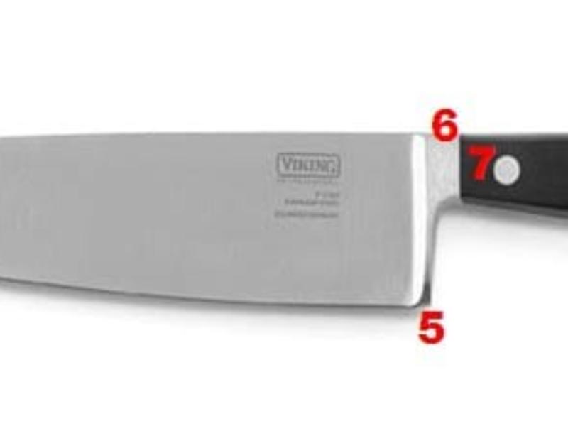 manter o fio ou abrir o fio da faca?