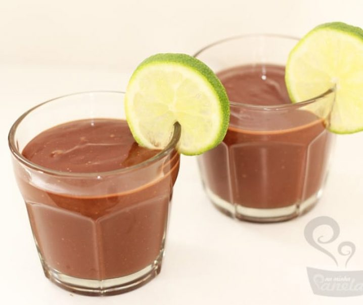 mousse (falso) de chocolate