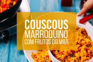 Couscous marroquino com frutos do mar