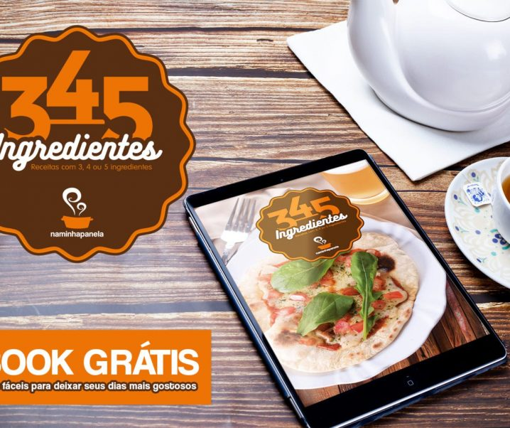 Ebook gratuito 3,4,5 ingredientes