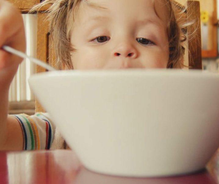 Consumo de ultra processados na infância