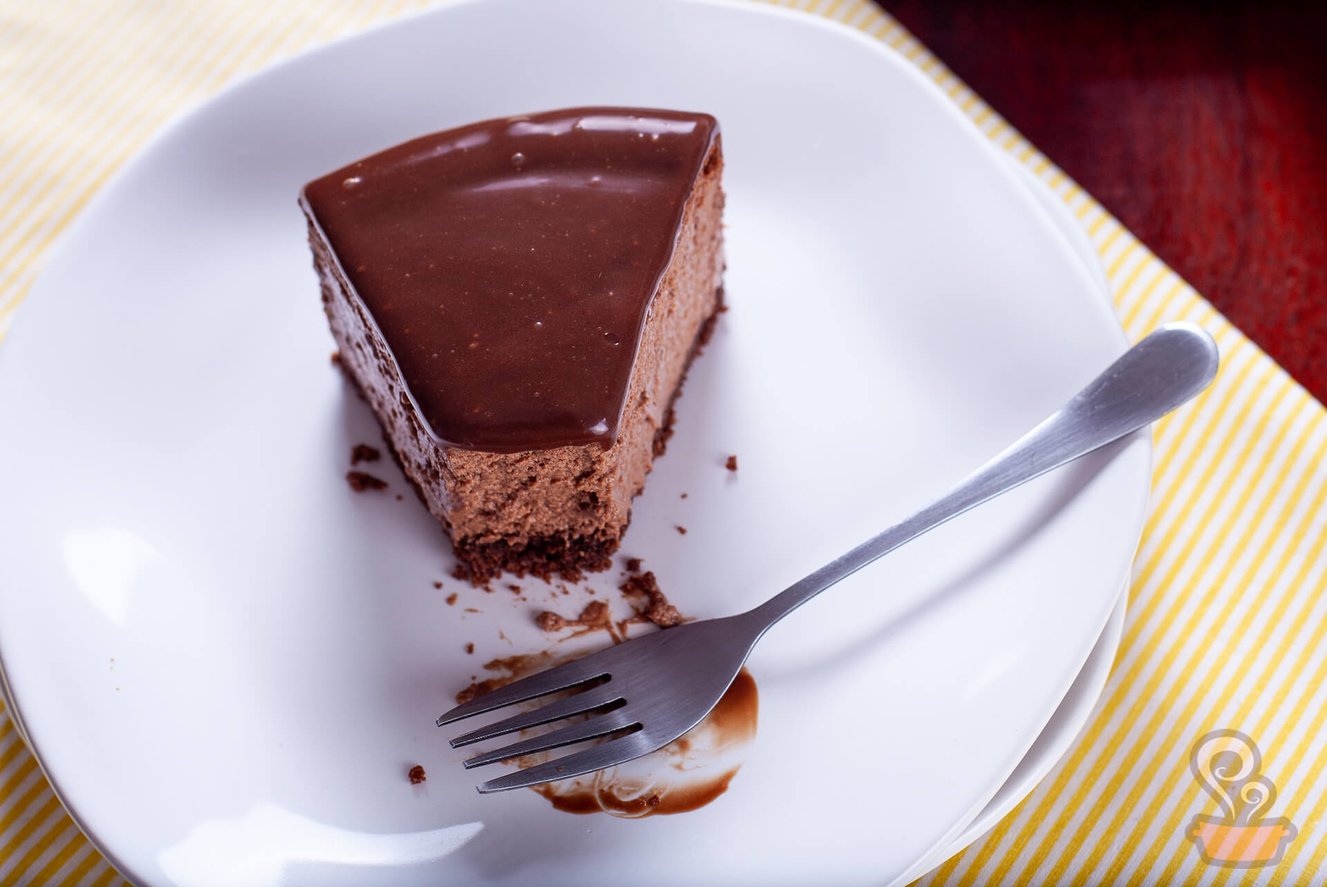 Cheesecake de chocolate - naminhapanela.com